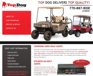 Top Dog Golf Carts