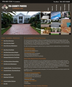 Tri County Pavers & Design
